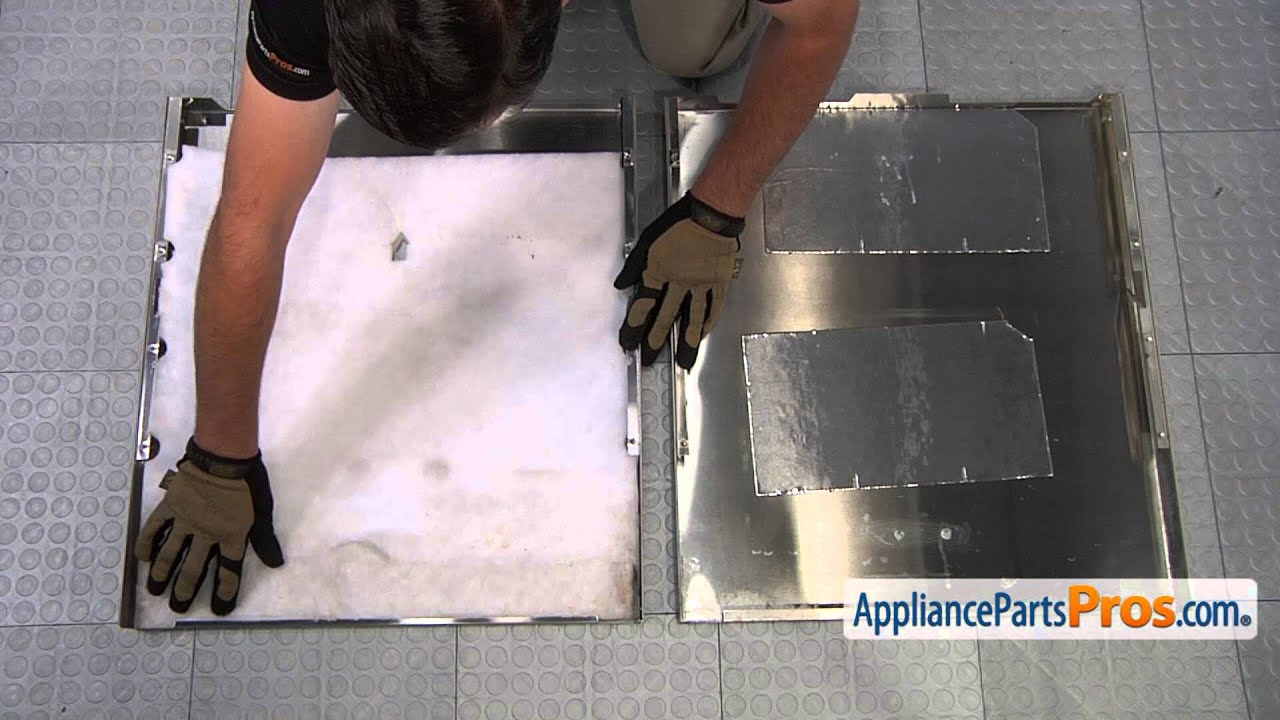 Superieur Dishwasher Door Panel (part #W10301577)   How To Replace   YouTube