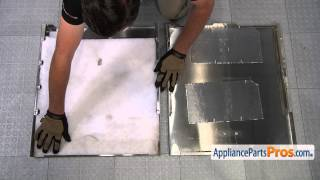 Dishwasher Door Panel (part W10301577) - How To Replace