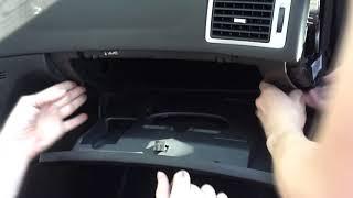 Peugeot 307 Poner Montar guantera