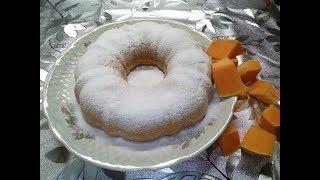 Кекс с Тыквенным пюре) Для любителей тыквы) Быстро#Вкусно#Просто в приготовлении)
