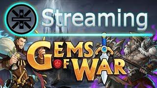 🔥 Gems of War Stream: Stormcaller Hero Class Event and Level 70 Grind 🔥