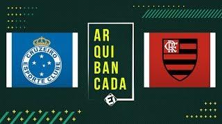CRUZEIRO x FLAMENGO (narração AO VIVO) - Brasileirão 2019