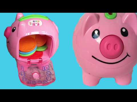 Fisher Price Laugh And Learn Piggy Bank Toy