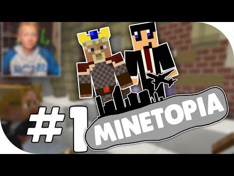 MINETOPIA #1 - HELP ONS DAVID!