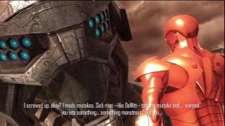(#17) Iron Man 2 Game - Walkthrough & Playthrough Part 17 Boss Intro in HD.wmv