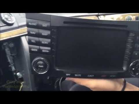 How to Upgrade Command Radio Unit in Mercedes E Class W211 | Mercedes E500