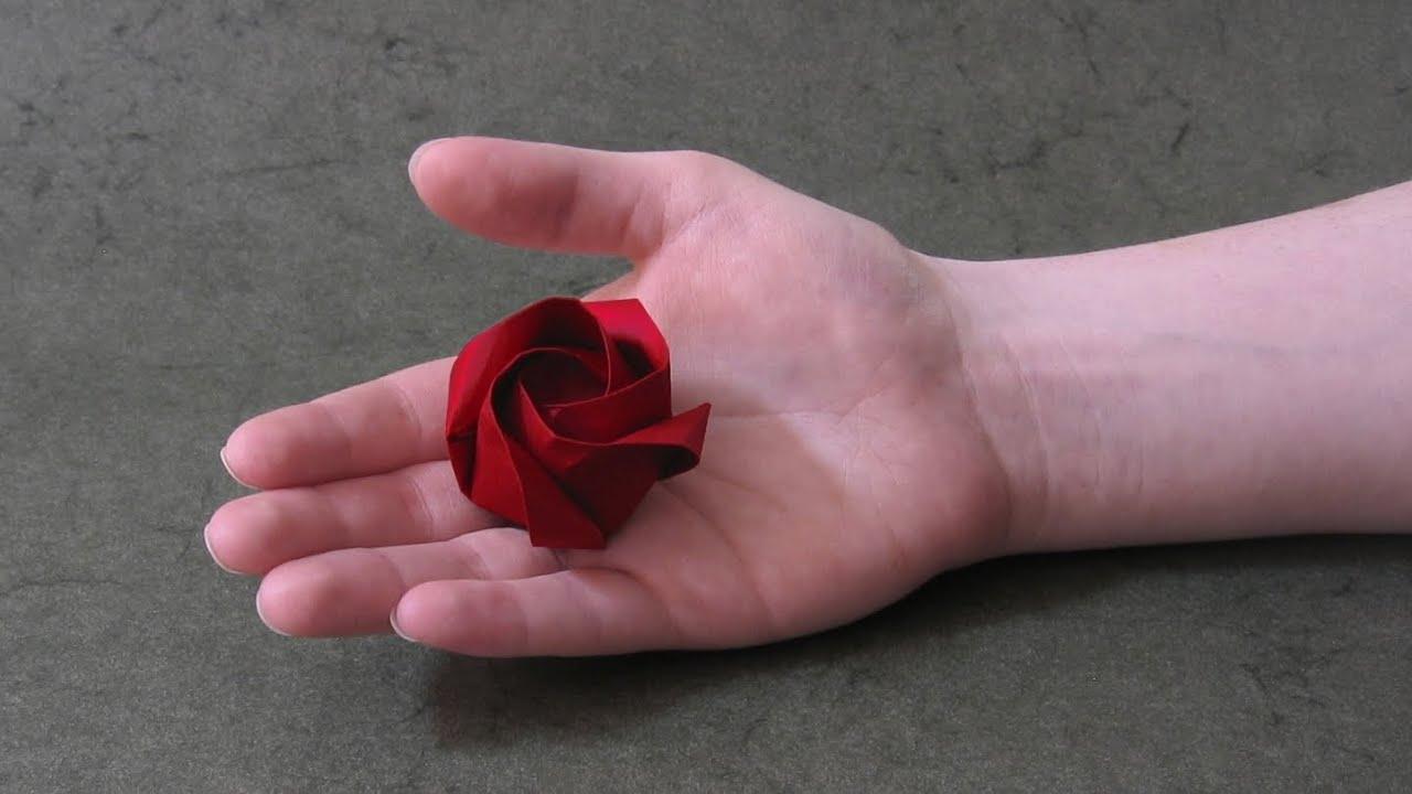 Origami Instructions: Rose of Roses (Jordi Adell) - YouTube - photo#9