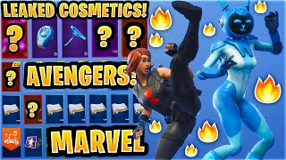 *NEW* All Leaked Fortnite Skins & Emotes..! *BLACK WIDOW* (Gemini, Lavish, Avengers Endgame..)