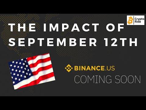 Binance Update- MUST WATCH For US Crypto Investors
