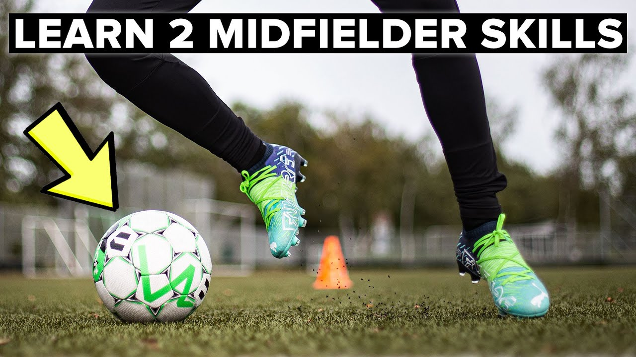 2 skills to CREATE SPACE in midfield