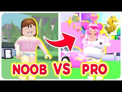 How I Went From Noob Vs Pro In Roblox Roblox Adopt Me Youtube
