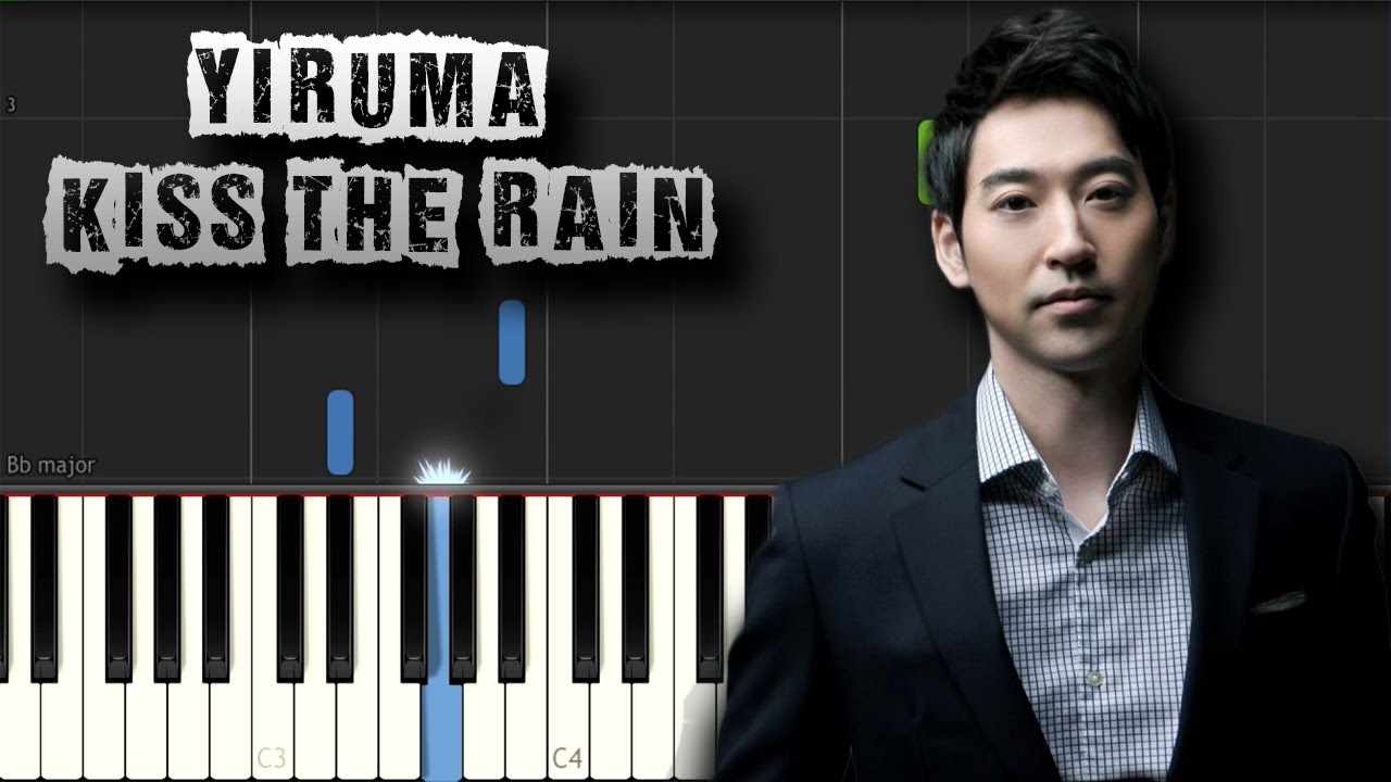 kiss the rain tutorial