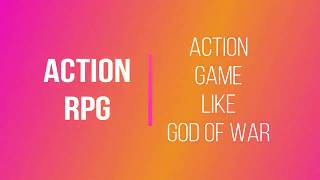 Download Game Like God of War - Action RPG