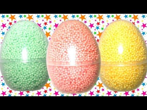 Киндер Сюрпризы из шарикового пластилина Видео для детей Робокар Поли Фиксики Игрушки из мультиков
