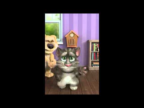 обзор talking tom cat2