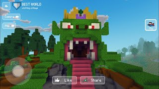 Block Craft 3D : Building Simulator Games For Free Gameplay#333 (iOS & Android) | Blue Car 🚙