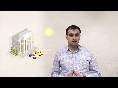 Solar energy transparent panels