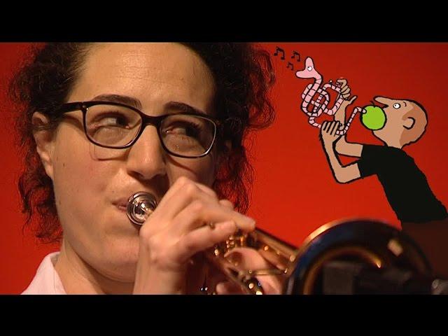 Airelle Besson, trompettiste termine sa résidence à Coutances (feuilleton 1 sur 4)