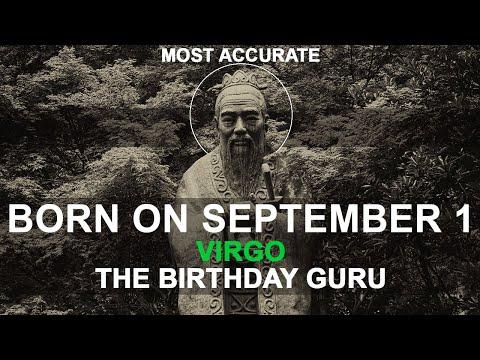 Born on September 1 | Birthday | #aboutyourbirthday | Sample