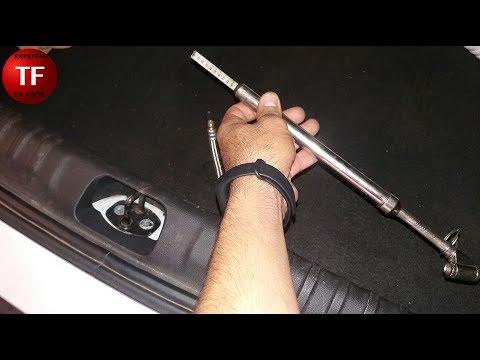 Prolongador extensão flexível para calibrar pneu