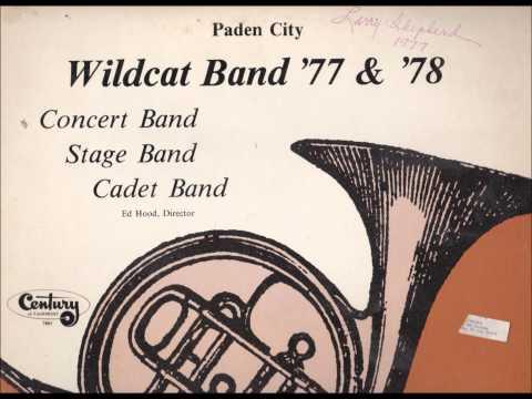 Paden City High School 1977 Concert Band - Black Horse Troop