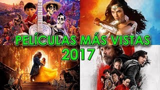 LAS 20 PELICULAS MAS VISTAS 2017 | EXITOS | MEJORES Y PEORES | WOW QUE PASA