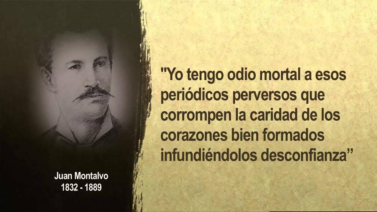 Juan Montalvo Frases Celebres De Juan Montalvo