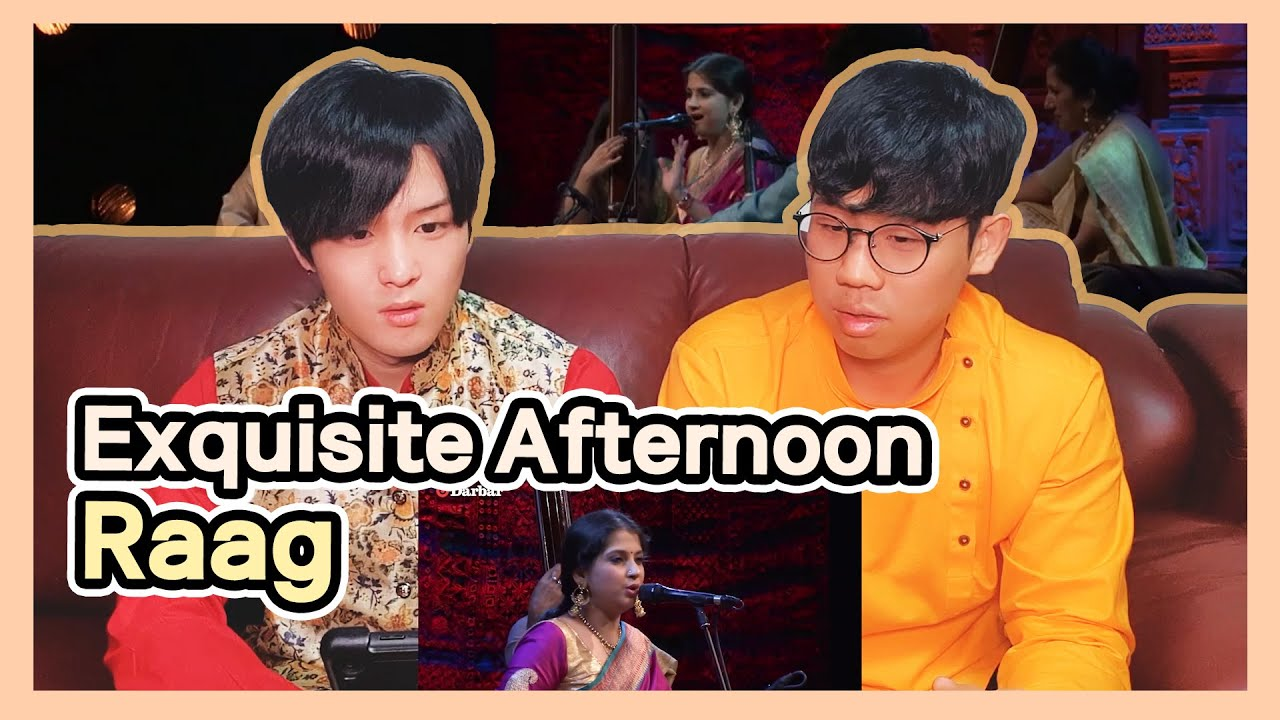 Koreans React to 【Exquisite Afternoon Raag Bhimpalasi】 |  Kaushiki Chakraborty | Music of India