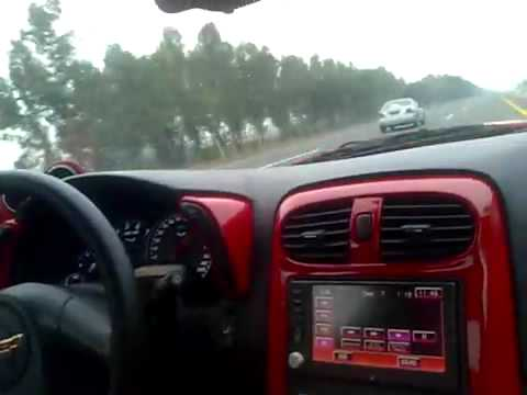 CORVETTE VS SKYLINE GTR R35 AT PAKISTAN MOTORWAY