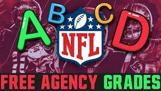 Grading Every NFL Teams Free Agency (2020 NFL Free Agency Grades)