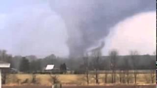 Southern Marysville Indiana tornado 2012 - MASSIVE DAMAGE !!!