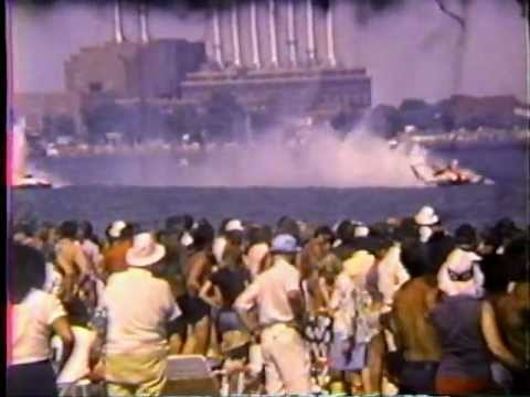 Gold Cup Hydroplane Racing - Detroit 1976 And More (from Bud Leider)