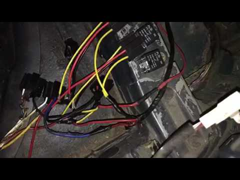 Sc300 fuel pump relay install and wiring - YouTube