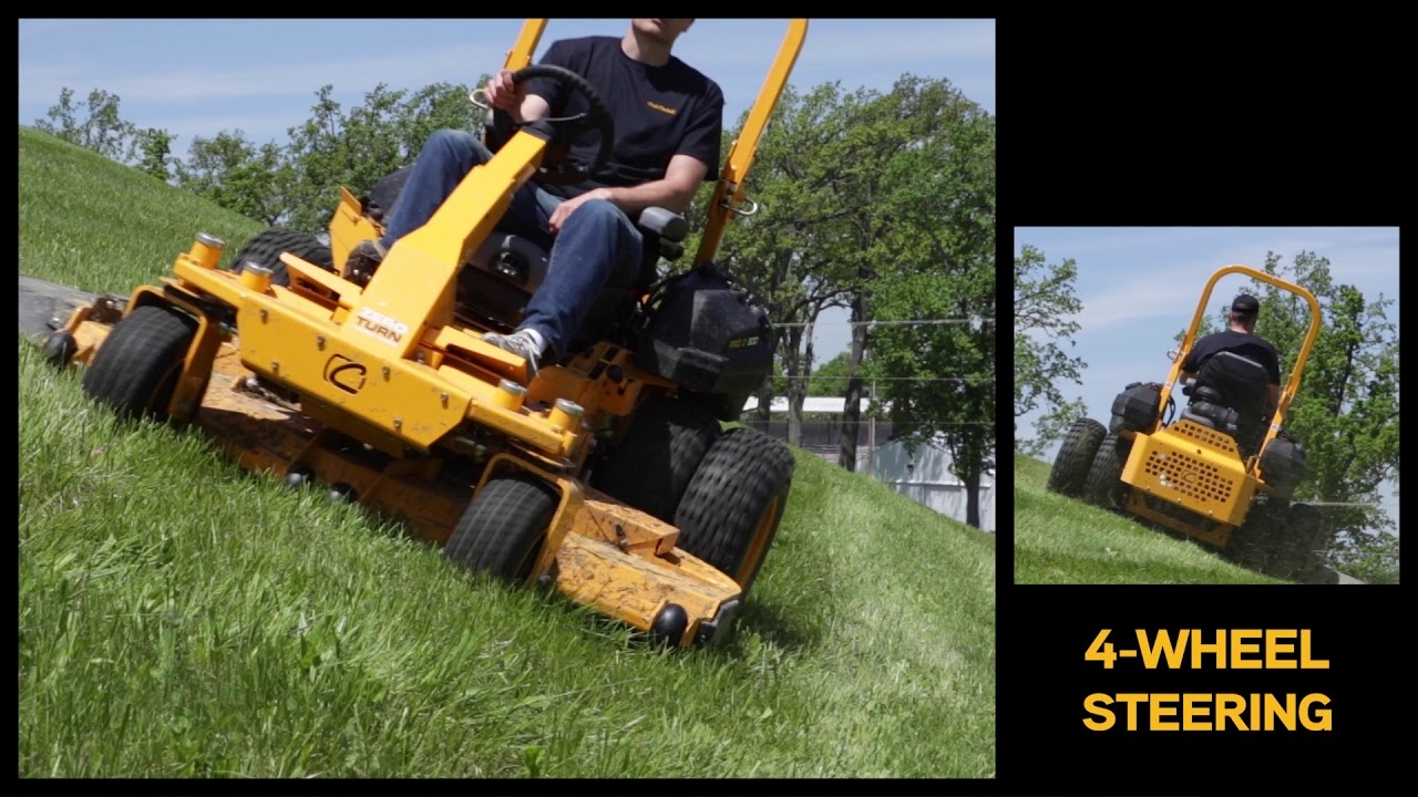 The Commercial Zero Turn Mower Made for Hills and Slopes | Cub Cadet Pro Z  972 SD