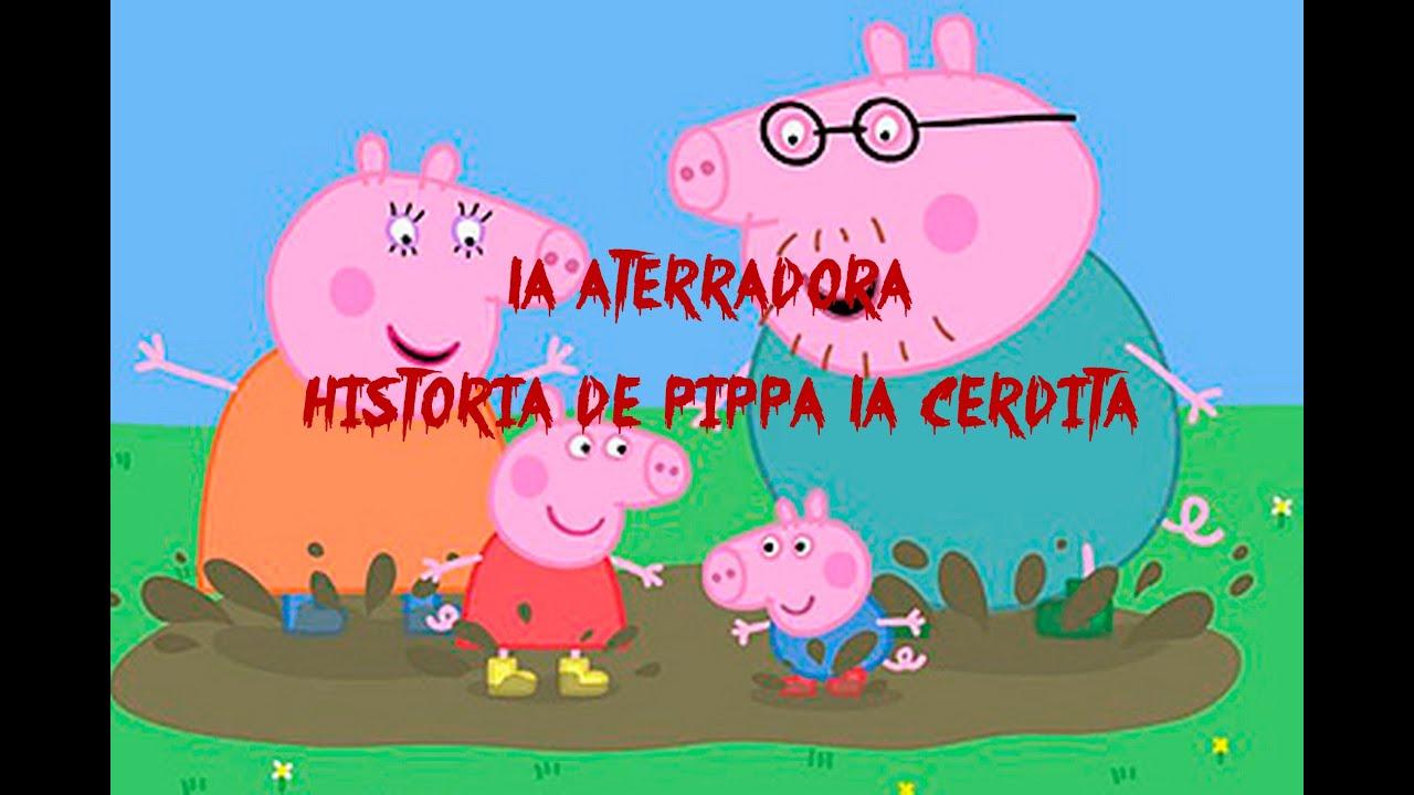 La Aterradora Historia de Peppa La Cerdita - YouTube