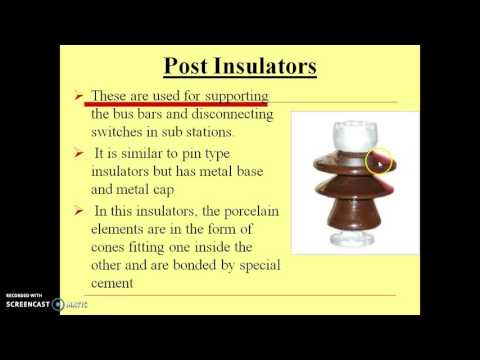 Overhead line insulators