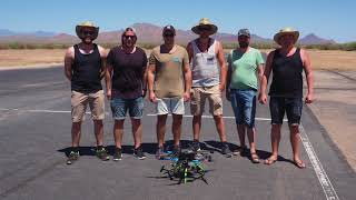 Halmstad University came in second place in drone competition