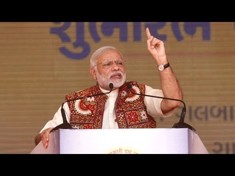 PM Narendra Modis Speech: addressing farmers  inaugurates Amul unit Gujarat