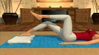 Daisy Fuentes Pilates    Toe Taps Spanish