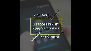 Бізнес аккаунт WhatsApp