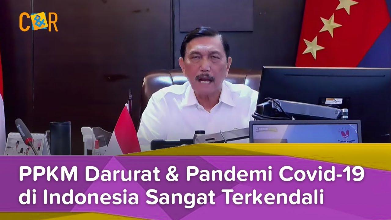 Luhut Binsar Pandjaitan, PPKM Darurat dan Pandemi di Indonesia Sangat Terkendali | HSN