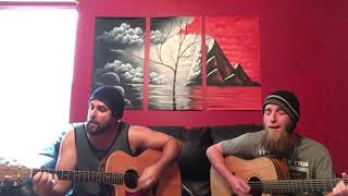 Pearl Jam Black acoustic cover by Memory Theory