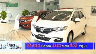 Vì sao giá Honda Jazz rơi tự do dưới 450 triệu đồng?