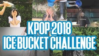 2018 kpop ice bucket challenge part 1 feat snsd astro momoland and more