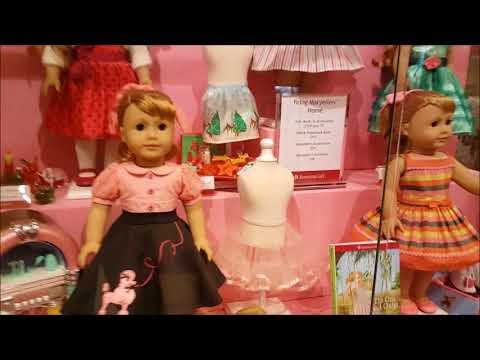 My Trip To The GA American Girl Doll Store!  WoW!