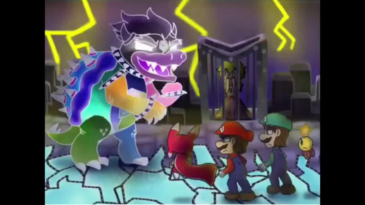 Speedpaint Adventure S End Mario And Luigi Dream Team 2018