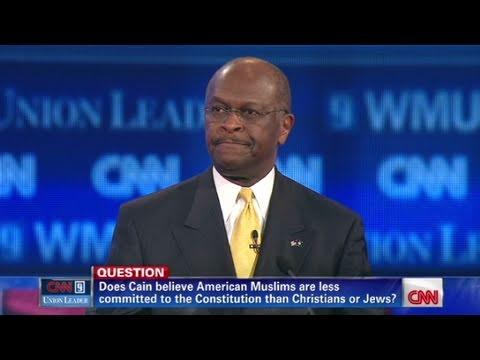CNN: Herman Cain explains stance on Muslims
