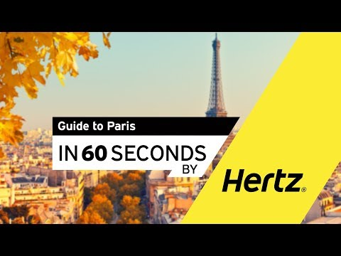Hertz in 60 seconds – A Guide to driving in Paris