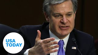 FBI director Wray testifies before Senate for first time since Capitol riot | USA TODAY