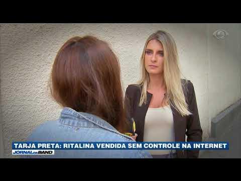 Ritalina é Vendida Sem Controle Na Internet